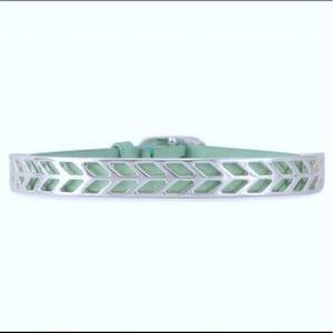 Stella & Dot Believe aqua bracelet In box!